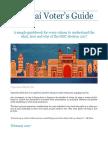 Voter Guide Mumbai 2017