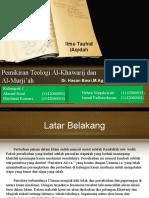 Pemikiran Teologi Al-Khawarij Dan Al-Murji'Ah