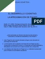 El Desarrollo Cognitivo. La Aproximacion de Piaget