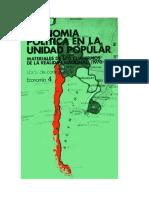 Economia Politica en La Unidad Popular