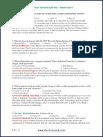 Current Affairs Quiz Pdf - March 2017.pdf