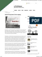 Sejarah Perang Dunia I (Versi Lengkap) ~ Sayap-Sayap Kehidupan