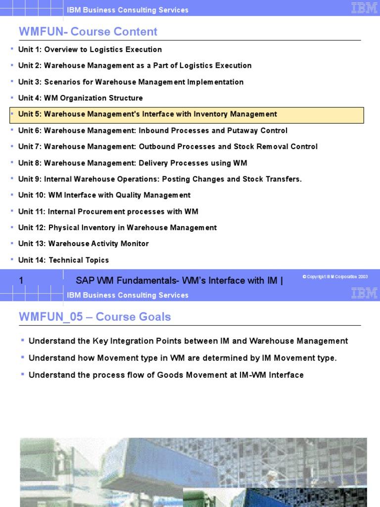 WMFUN_05_v0 | Warehouse | Logistics