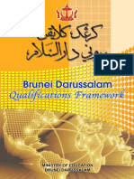 Brunei Darussalam's Qualification Framework, November 2014