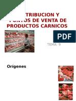 9. Distribucion y Puntos de Venta de Productos Carnicos