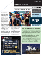 Business Events News for Mon 03 Apr 2017 - Flight Centre world DMC plan, SOS for CWT Meetings
