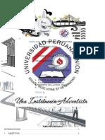 Informe de La Granulometria UPeU