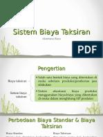 6_Sistem Biaya Taksiran