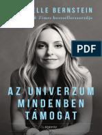 AZ UNIVERZUM MINDENBEN TÁMOGAT - Gabrielle Bernstein
