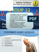 Group 12 (Coronary Heart Desease)