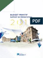 Rapport de présentation BP2017 - VDM