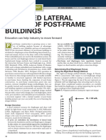 Simplified Lateral Design of PF Buildings