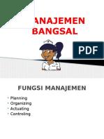 Materi Manajemen-Bangsal