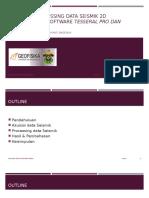 Akuisisi & Processing Data Seismik 2d Menggunakan Software