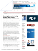 Ensuring Connectivity During Product Safety Testing _ in Compliance Magazine