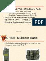 Harris an Prc 150c Type 1 Hf Radio | Alta frecuencia | Radio