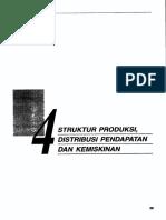 Bab4-Struktur Produksi Distribusi Pendapatan Dan Kemiskinan