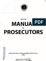 DOJ-NPS Manual for Prosecutors 2008