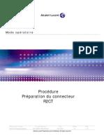 Préparation Du Connecteur R2CT