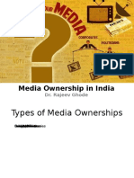 Media Ownership in India