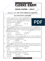 Pages From SBI Clerk Exam Paper