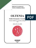 Revista OLTENIA Pentru Editura