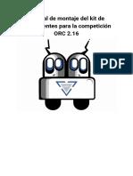 Manual de Montaje Del Kit ORC Rev1.1