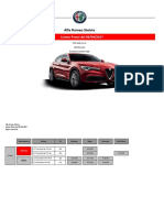 Listino Prezzi Alfa Romeo Stelvio 2017 Aprile