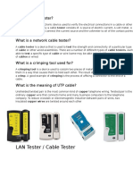 What is a LAN Tester