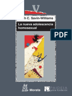 La Nueva Adolescencia Homosexua - Savin-Williams, Ritch C.(Author
