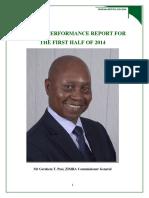 Mid Term 2015 Zimra Report