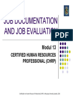Modul 13 - Job Evaluatiom