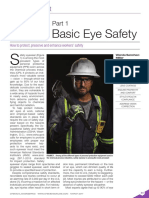 Eye Protection, Part 1 - Beyond Basic Eye Safety