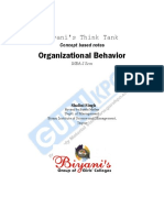Org. Behaviour