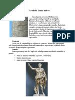 Artele in Roma Antica