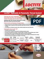 Industrial Maintenance Loctite® Hydraulic & Pneumatic Thread Sealant