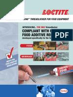 Food & Beverage Loctite® 2046™ Threadlocker Sell Sheet