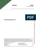 S-003 - Environmental Care Rev4, Dec2005