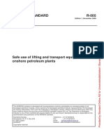 R-005 - Safe Use of Lifting and Transport Equipment in Onshore Petroleum Plants Ed1, Nov2008
