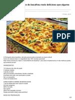 Receitasparatodososgostos.net-Simplesmente o Prato de Bacalhau Mais Delicioso Que Alguma Vez Comeste