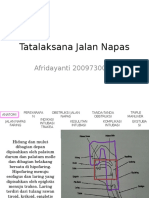 Tatalaksana Jalan Napas