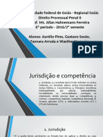 Processo Penal. Grupo I