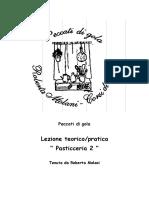 Ricette Corso Pasticceria 2 - I - Di Roberta Molani