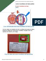 Coparoman_ Color de Terminales Del Motor Monofásico de Fase Partida