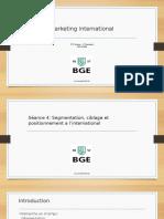 Chap4-Segmentation, Ciblage Et Positionnement à L_international