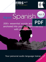 Booklet Spanish