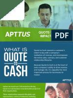 Apttus QTC Impact Study 2016