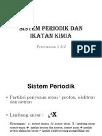 Sistem Periodik Dan Ikatan Kimia 1