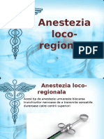 Anestezia Loco Regionala