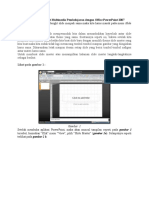 Langkah Mudah Membuat Multimedia Pembelajaran Dengan Office PowerPoint 2007